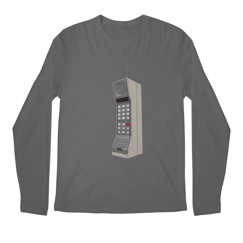 Are you sure it's a mobile phone? Men's Longsleeve T-Shirt by hamenthotep's Artist Shop