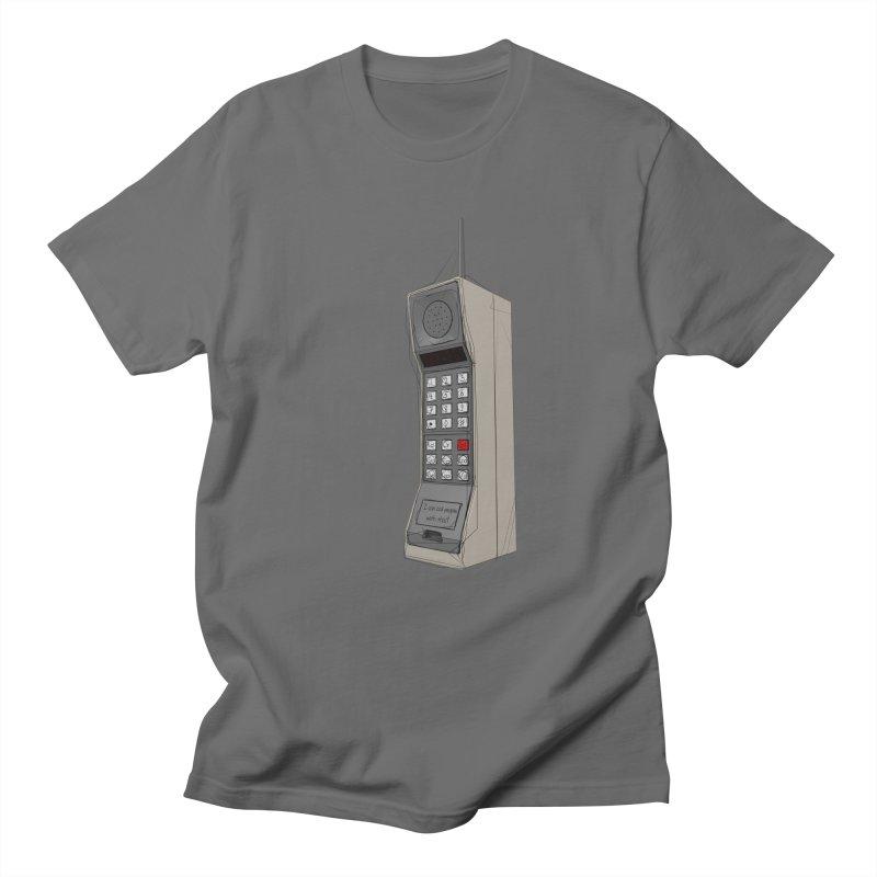Are you sure it's a mobile phone? Men's T-Shirt by hamenthotep's Artist Shop