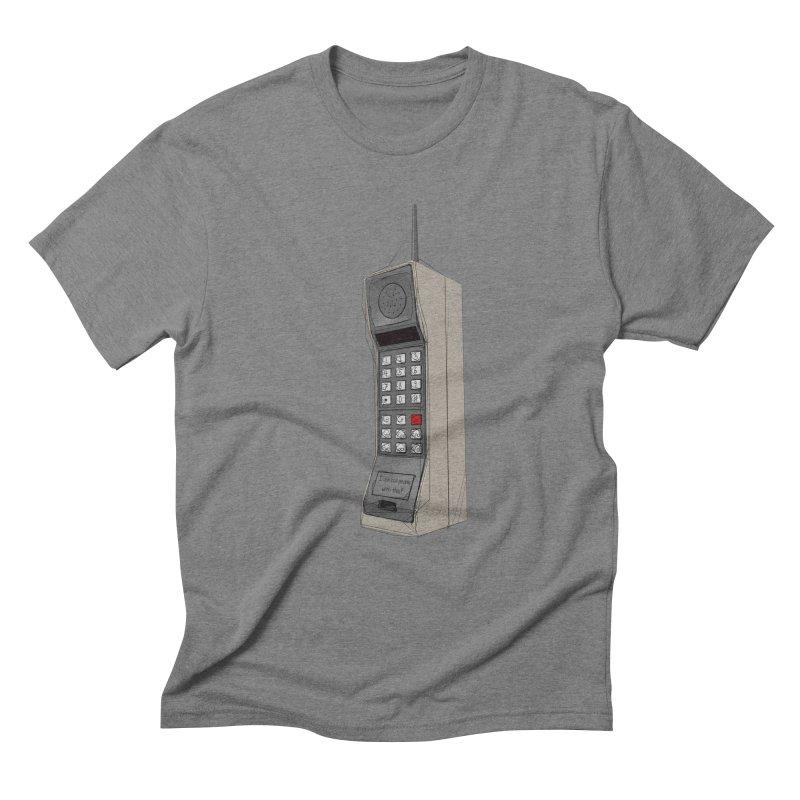 Are you sure it's a mobile phone? Men's Triblend T-Shirt by hamenthotep's Artist Shop