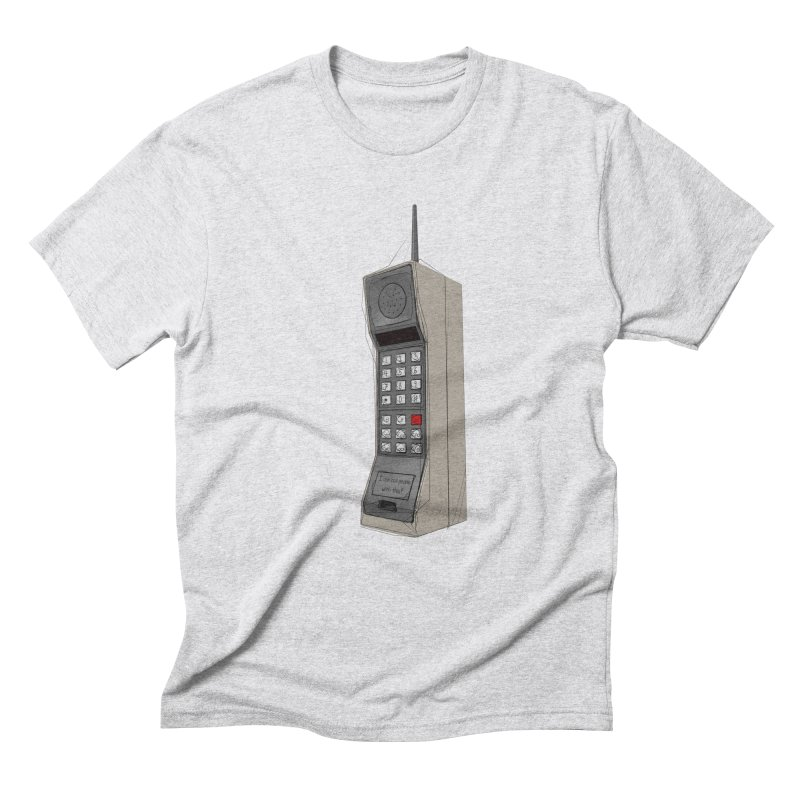 Are you sure it's a mobile phone? Men's Triblend T-Shirt by hamenthotep's Artist Shop