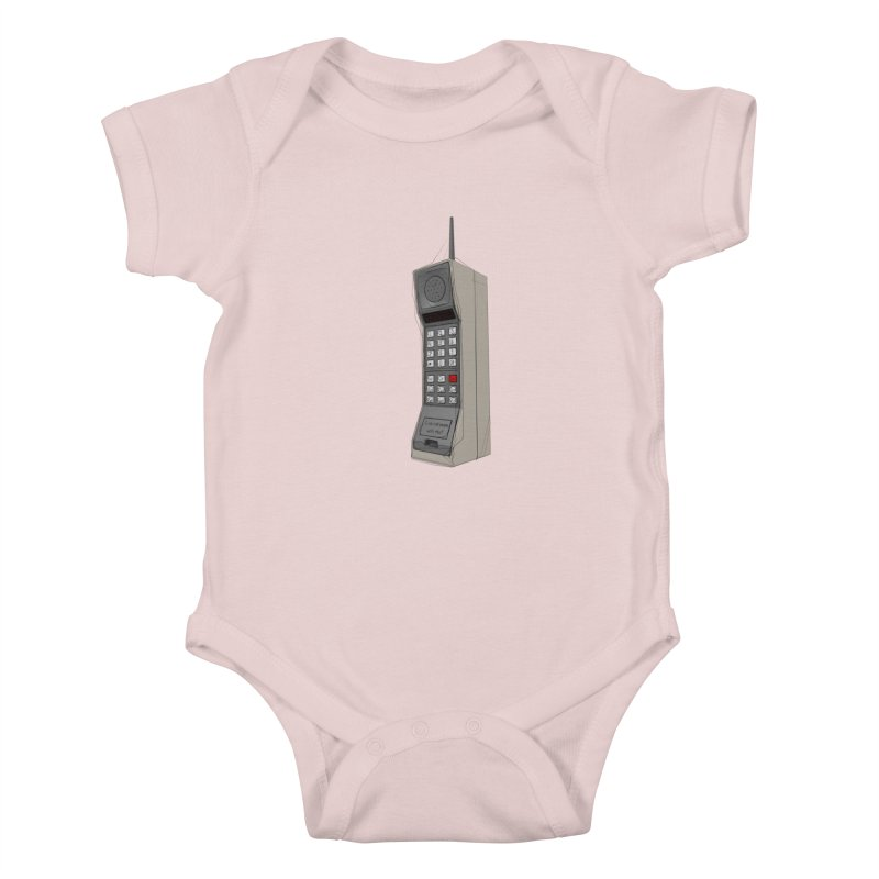 Are you sure it's a mobile phone? Kids Baby Bodysuit by hamenthotep's Artist Shop
