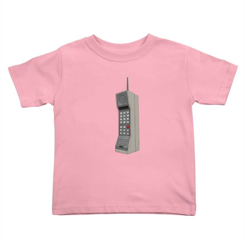 Are you sure it's a mobile phone? Kids Toddler T-Shirt by hamenthotep's Artist Shop