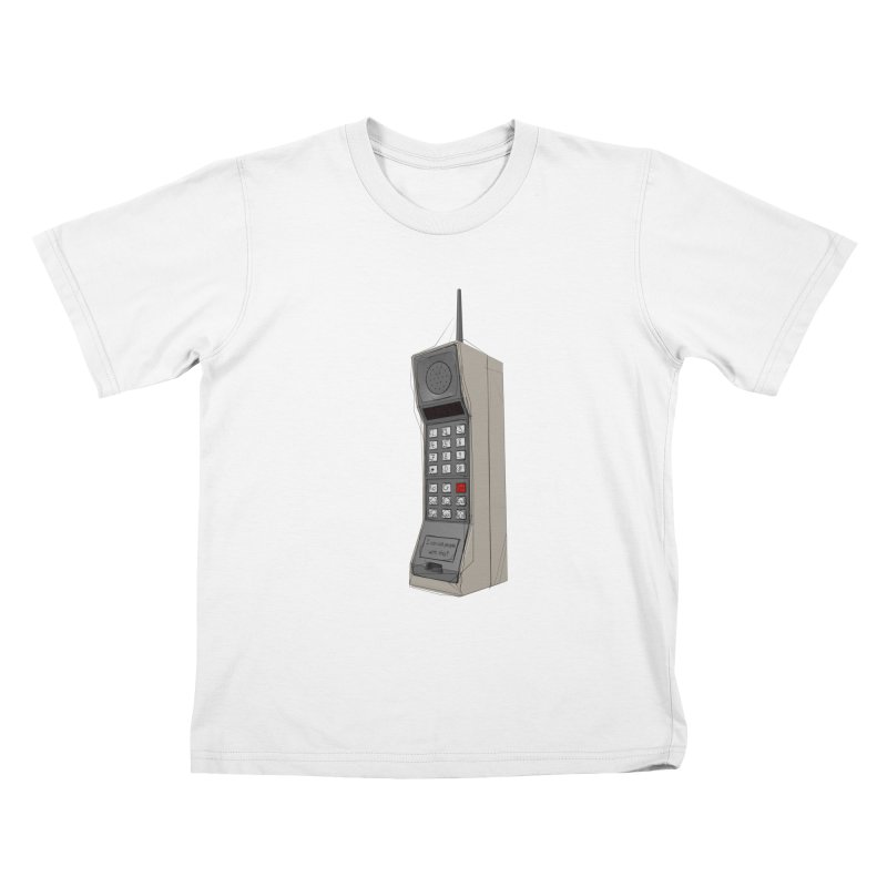 Are you sure it's a mobile phone? Kids T-Shirt by hamenthotep's Artist Shop