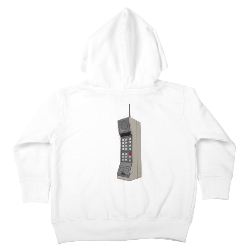 Are you sure it's a mobile phone? Kids Toddler Zip-Up Hoody by hamenthotep's Artist Shop