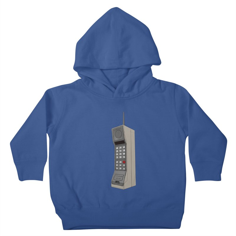 Are you sure it's a mobile phone? Kids Toddler Pullover Hoody by hamenthotep's Artist Shop