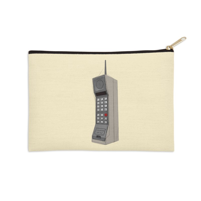 Are you sure it's a mobile phone? Accessories Zip Pouch by hamenthotep's Artist Shop