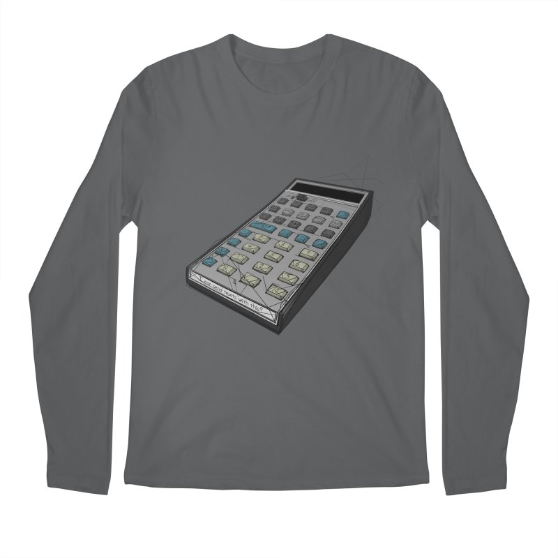I can send texts with this? Men's Longsleeve T-Shirt by hamenthotep's Artist Shop