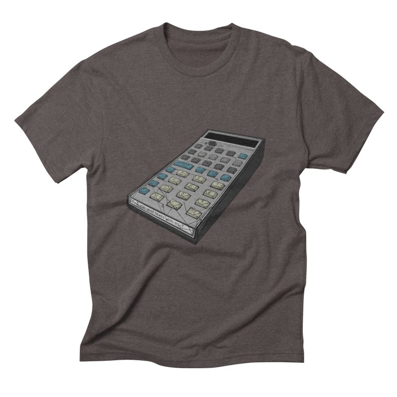 I can send texts with this? Men's Triblend T-Shirt by hamenthotep's Artist Shop