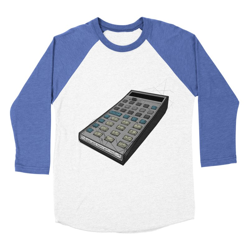 I can send texts with this? Women's Baseball Triblend Longsleeve T-Shirt by hamenthotep's Artist Shop
