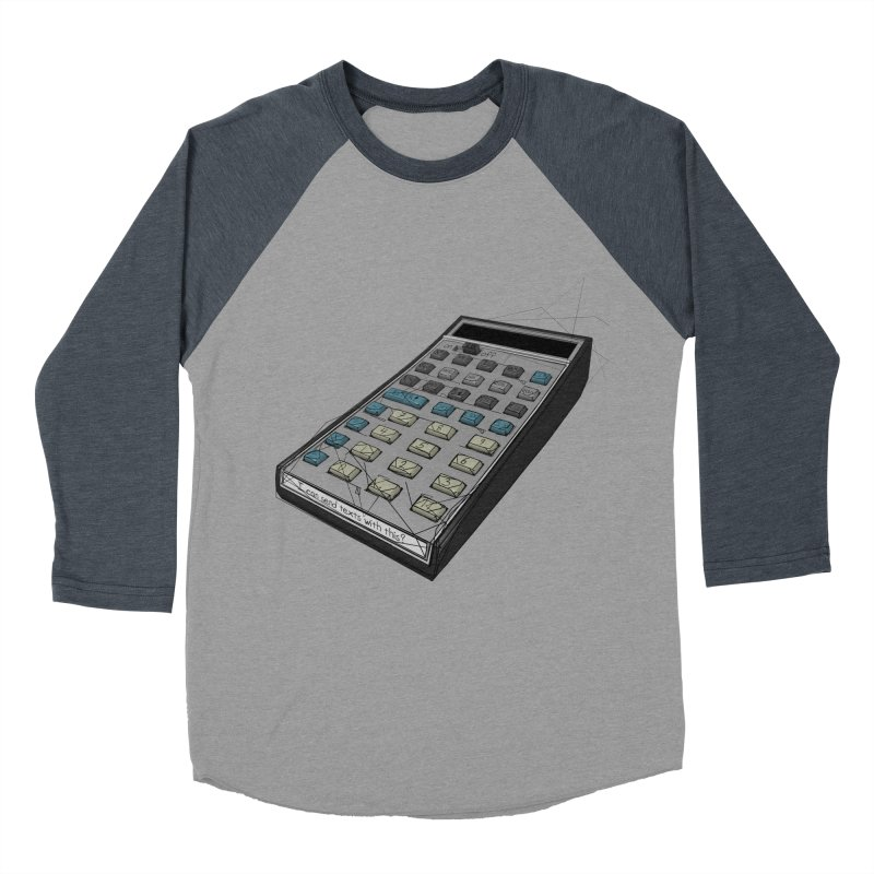 I can send texts with this? Men's Baseball Triblend Longsleeve T-Shirt by hamenthotep's Artist Shop