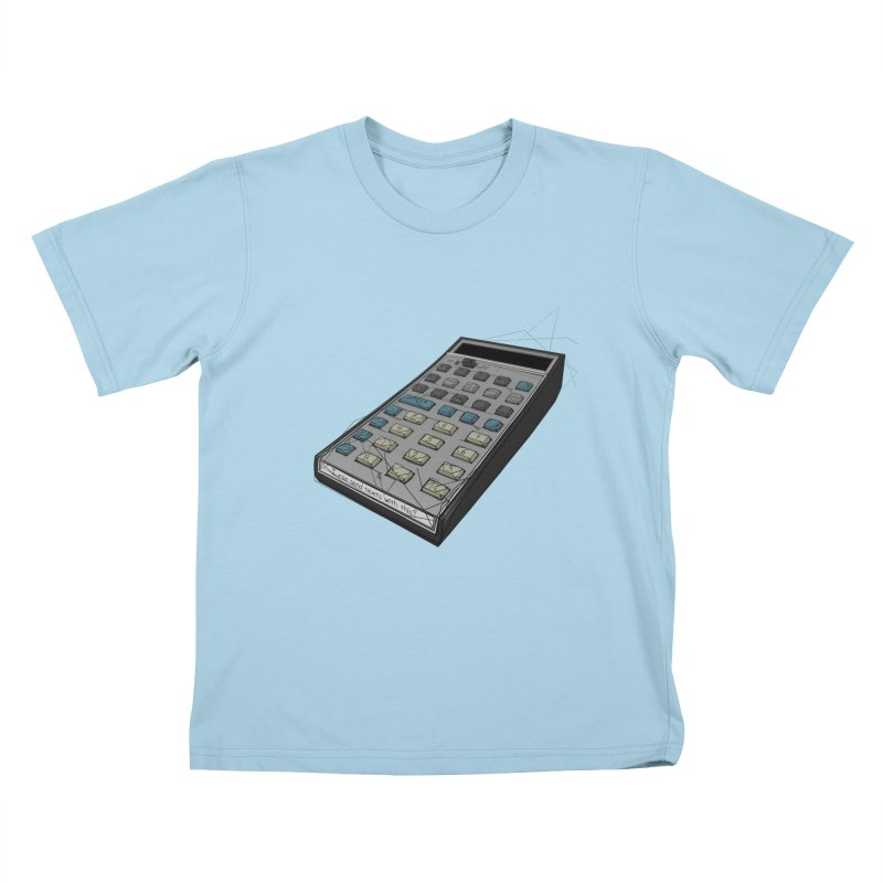 I can send texts with this? Kids T-Shirt by hamenthotep's Artist Shop