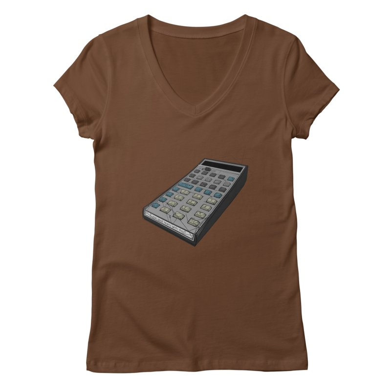 I can send texts with this? Women's Regular V-Neck by hamenthotep's Artist Shop