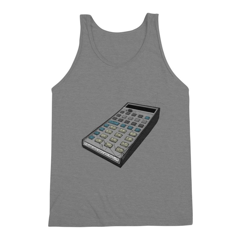 I can send texts with this? Men's Triblend Tank by hamenthotep's Artist Shop