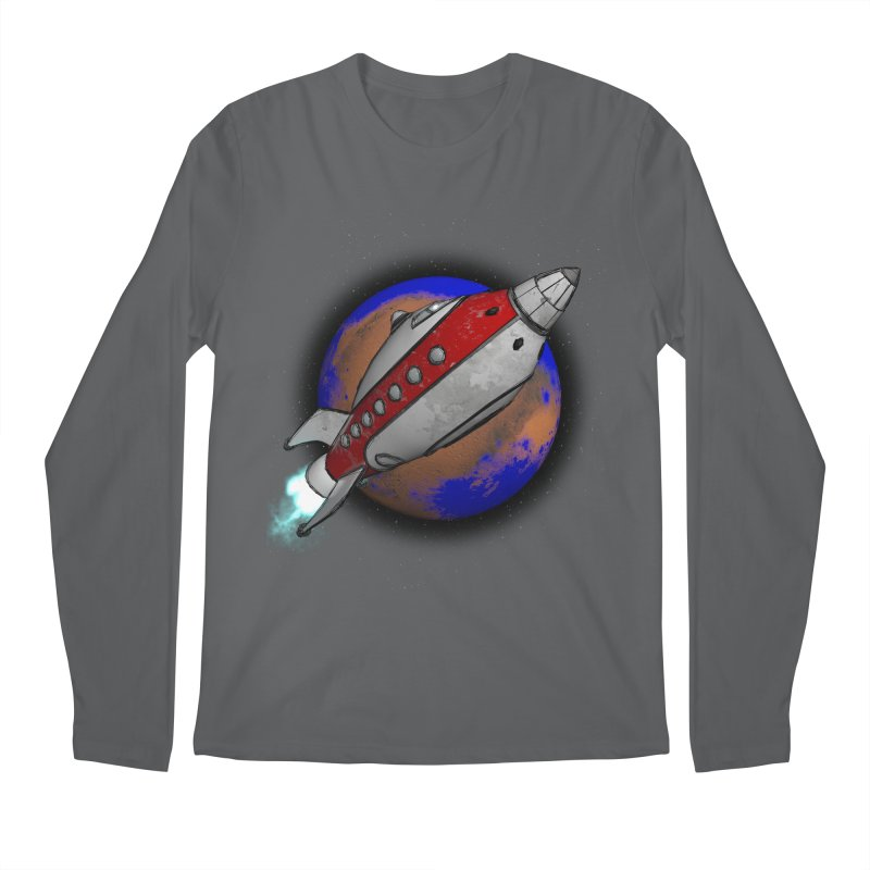 Adventure is out there!  Men's Longsleeve T-Shirt by hamenthotep's Artist Shop
