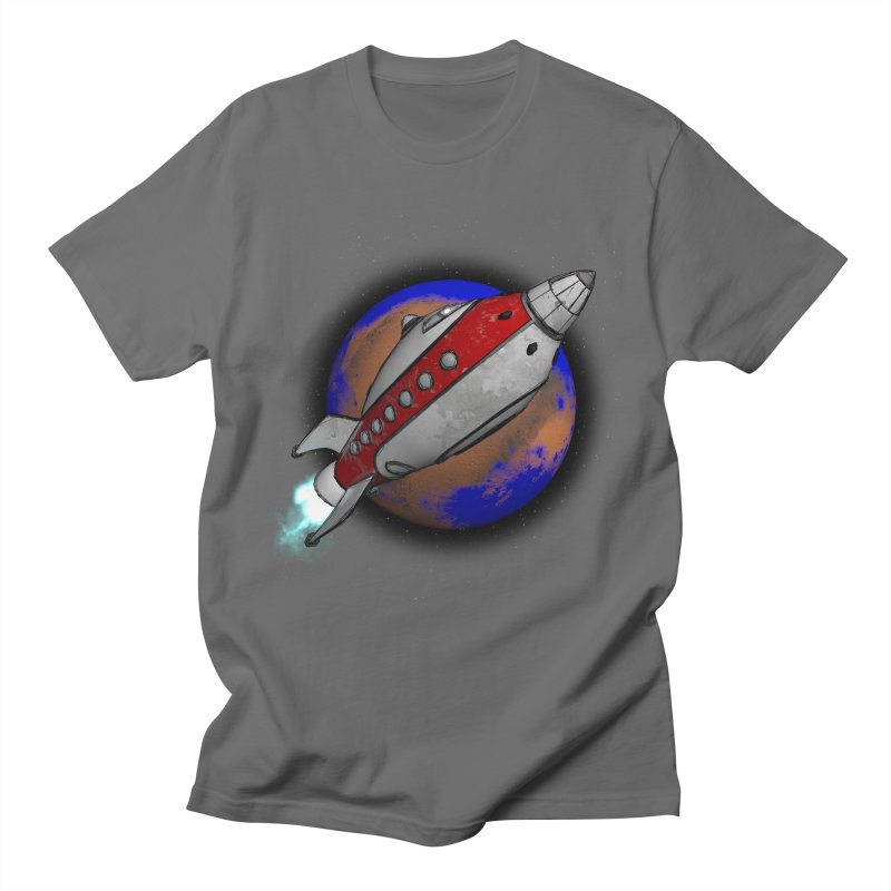 Adventure is out there!  Men's T-Shirt by hamenthotep's Artist Shop