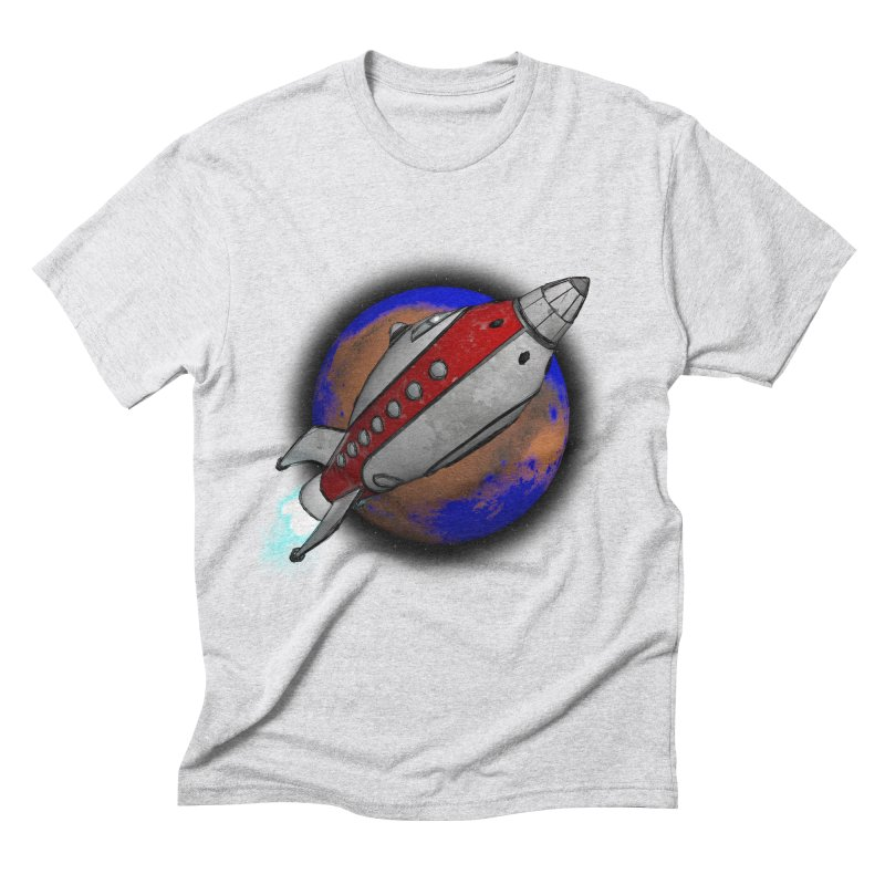 Adventure is out there!  Men's Triblend T-Shirt by hamenthotep's Artist Shop