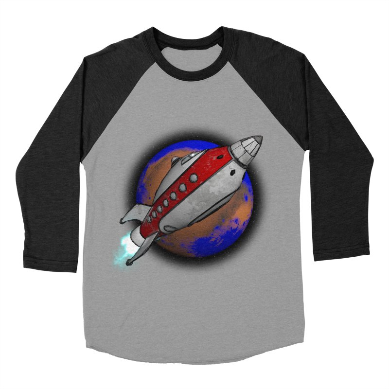 Adventure is out there!  Women's Baseball Triblend Longsleeve T-Shirt by hamenthotep's Artist Shop