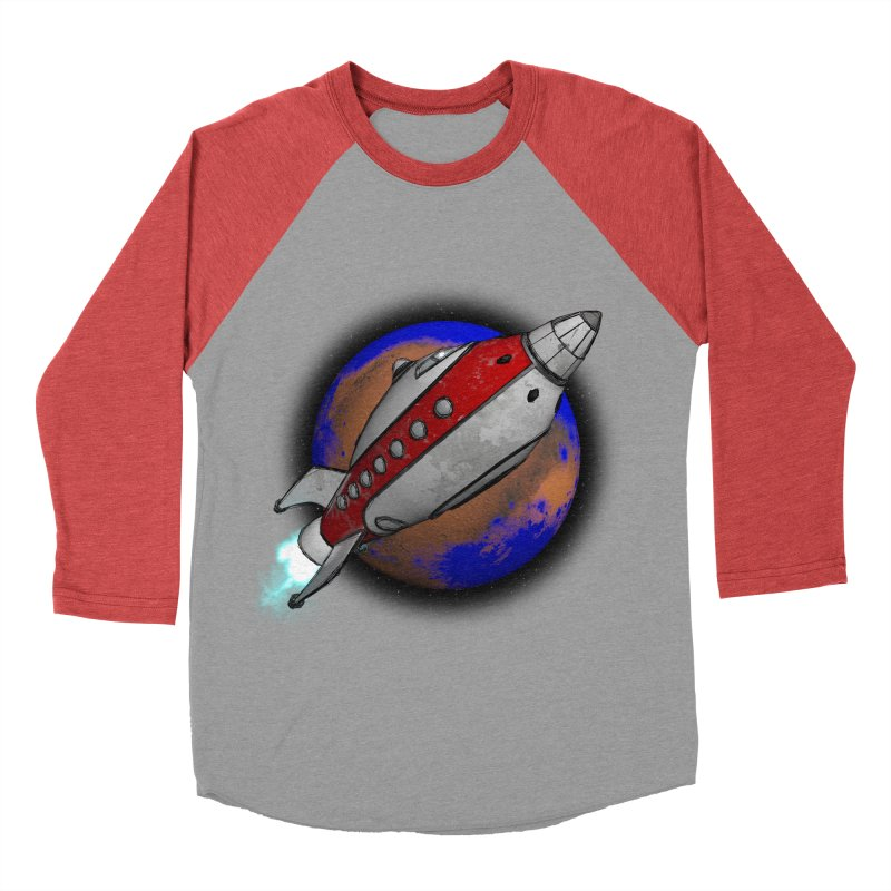 Adventure is out there!  Men's Baseball Triblend Longsleeve T-Shirt by hamenthotep's Artist Shop