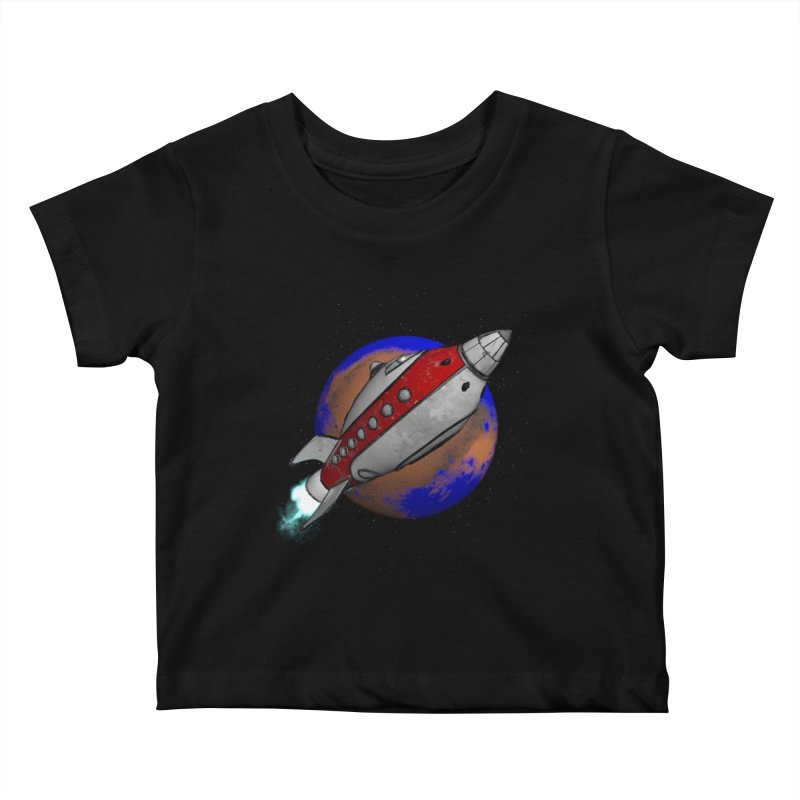 Adventure is out there!  Kids Baby T-Shirt by hamenthotep's Artist Shop