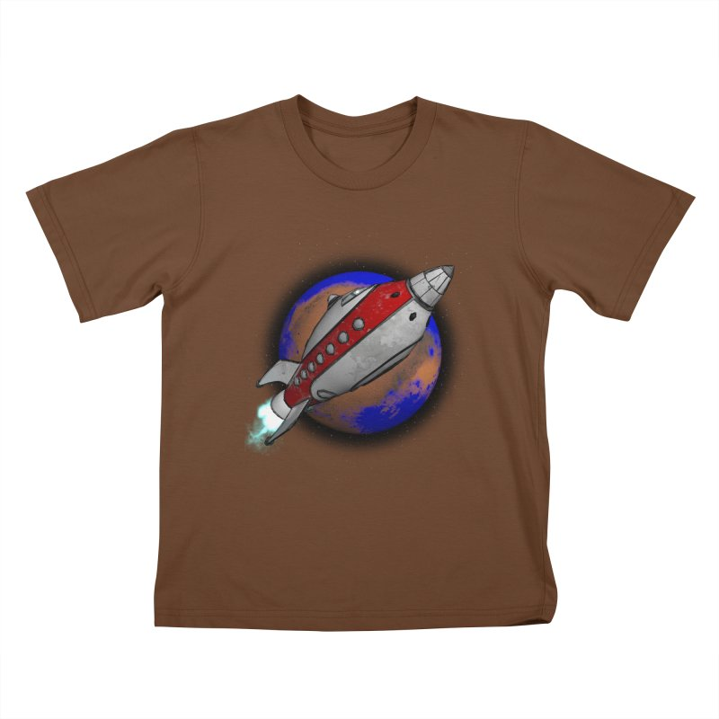 Adventure is out there!  Kids T-Shirt by hamenthotep's Artist Shop