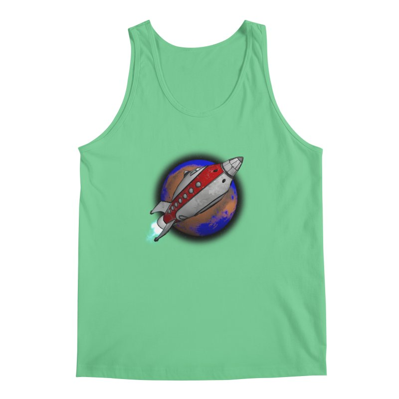 Adventure is out there!  Men's Regular Tank by hamenthotep's Artist Shop