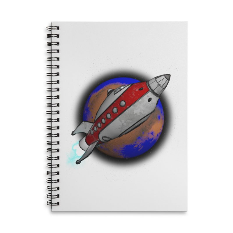 Adventure is out there!  Accessories Lined Spiral Notebook by hamenthotep's Artist Shop