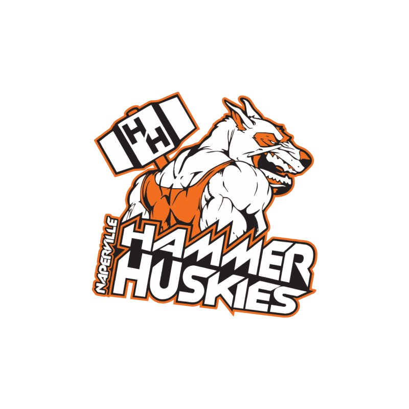 Original Hammer Huskie Kids Baby Bodysuit by Hammer Huskies's Artist Shop