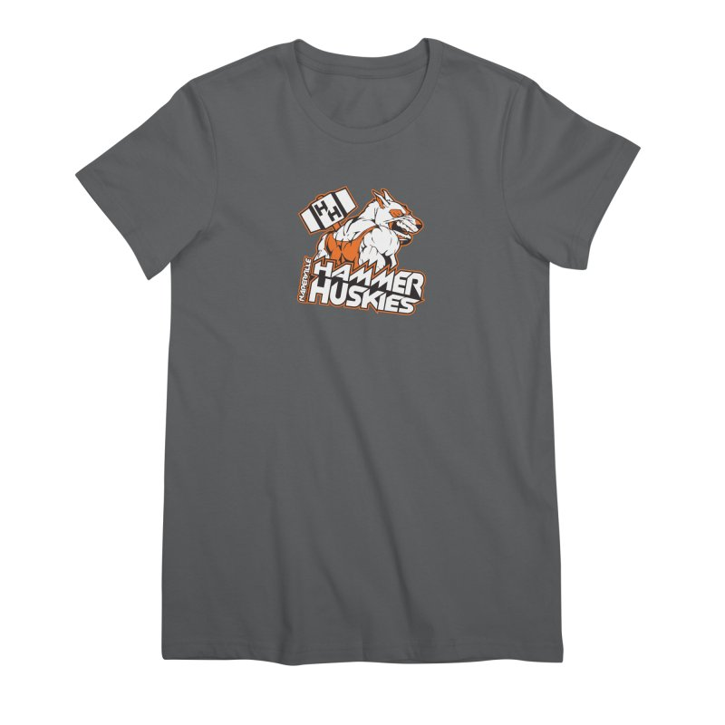 Original Hammer Huskie Women's Premium T-Shirt by Hammer Huskies's Artist Shop