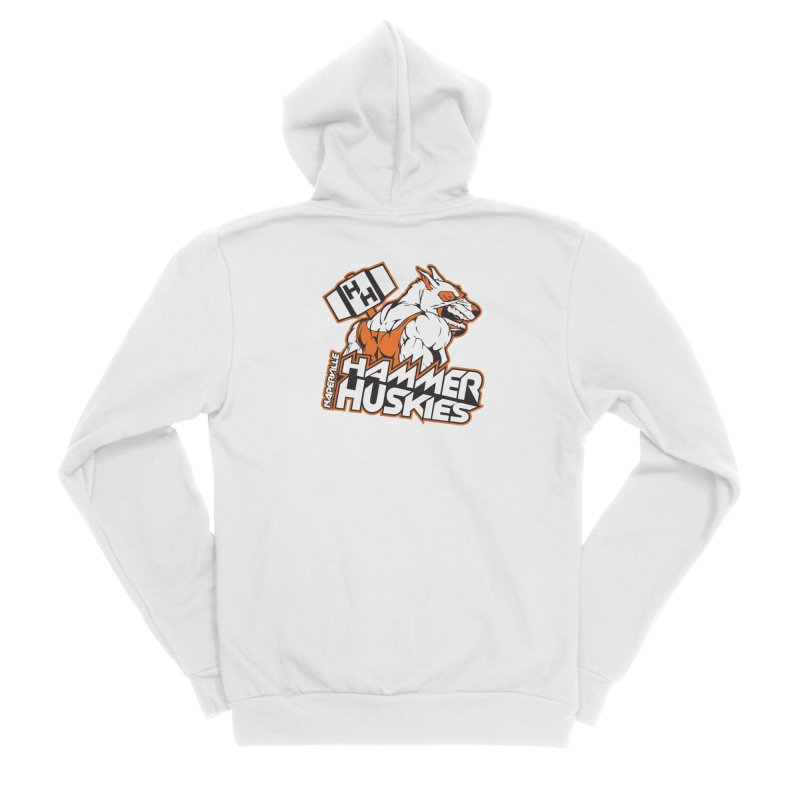 Original Hammer Huskie Men's Zip-Up Hoody by Hammer Huskies's Artist Shop