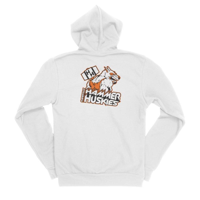 Original Hammer Huskie Women's Zip-Up Hoody by Hammer Huskies's Artist Shop