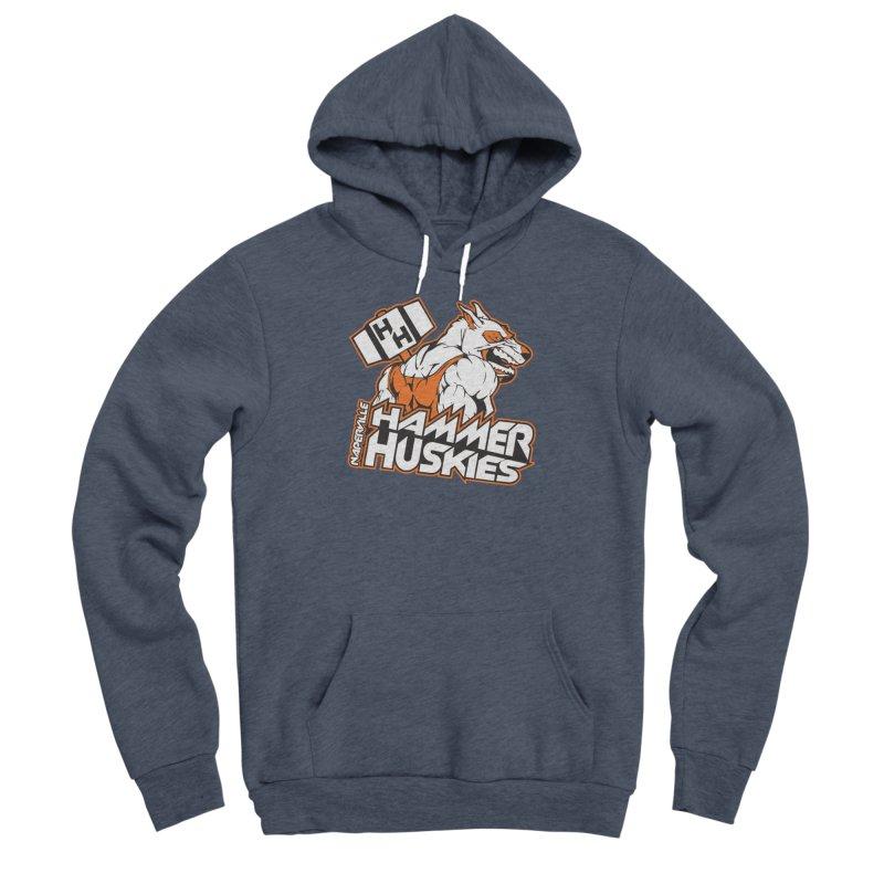 Original Hammer Huskie Women's Sponge Fleece Pullover Hoody by Hammer Huskies's Artist Shop