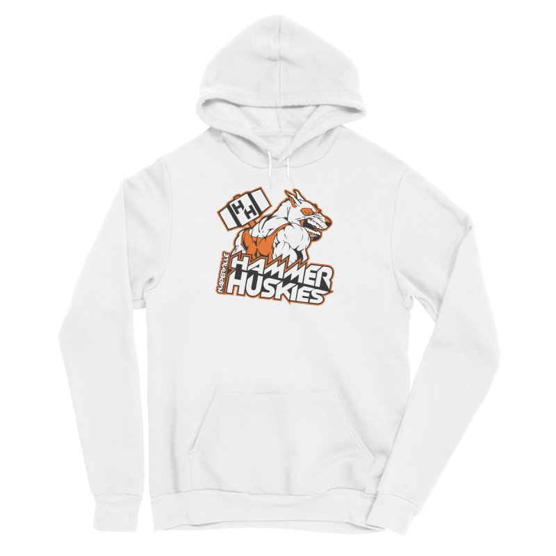 Original Hammer Huskie Men's Pullover Hoody by Hammer Huskies's Artist Shop