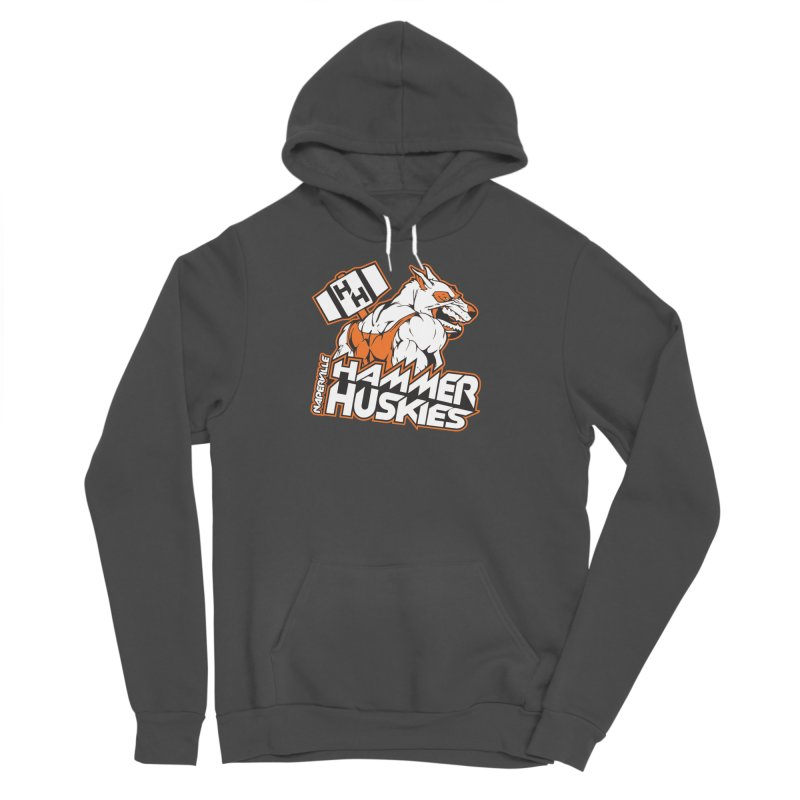 Original Hammer Huskie Men's Sponge Fleece Pullover Hoody by Hammer Huskies's Artist Shop