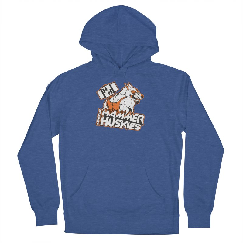 Original Hammer Huskie Men's French Terry Pullover Hoody by Hammer Huskies's Artist Shop
