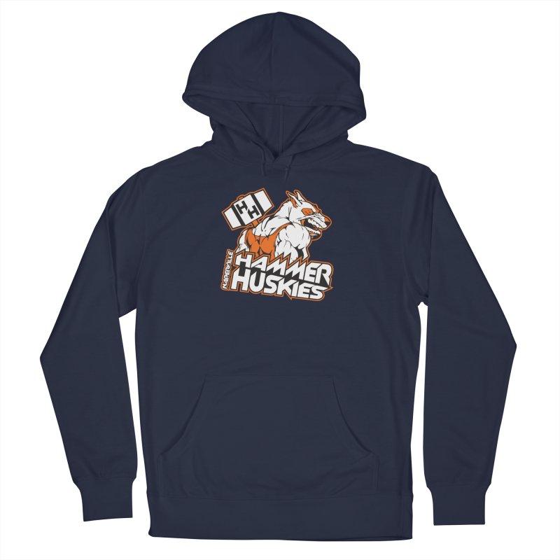 Original Hammer Huskie Men's French Terry Pullover Hoody by Hammer Huskies's Artist Shop