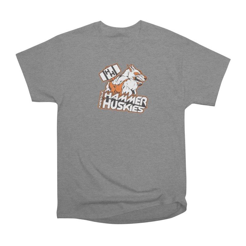 Original Hammer Huskie Men's Heavyweight T-Shirt by Hammer Huskies's Artist Shop