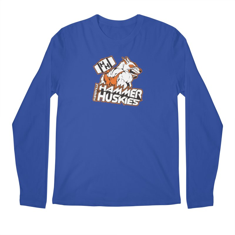 Original Hammer Huskie Men's Regular Longsleeve T-Shirt by Hammer Huskies's Artist Shop
