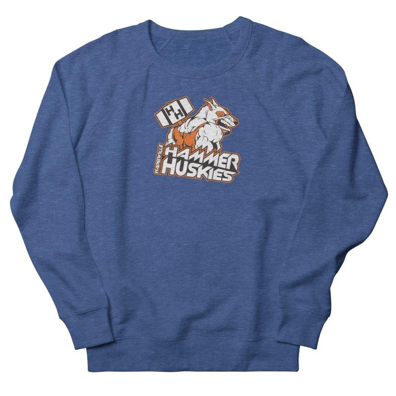 Original Hammer Huskie Women's French Terry Sweatshirt by Hammer Huskies's Artist Shop