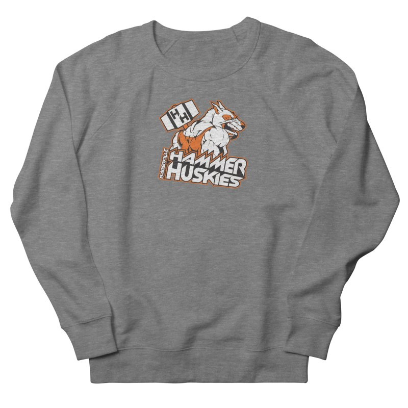 Original Hammer Huskie Women's French Terry Sweatshirt by Hammer Huskies's Artist Shop