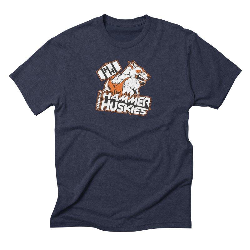 Original Hammer Huskie Men's Triblend T-Shirt by Hammer Huskies's Artist Shop
