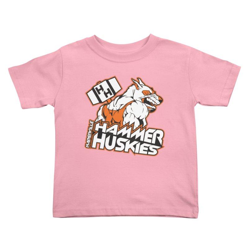 Original Hammer Huskie Kids Toddler T-Shirt by Hammer Huskies's Artist Shop