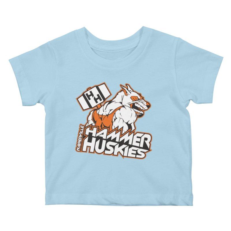 Original Hammer Huskie Kids Baby T-Shirt by Hammer Huskies's Artist Shop