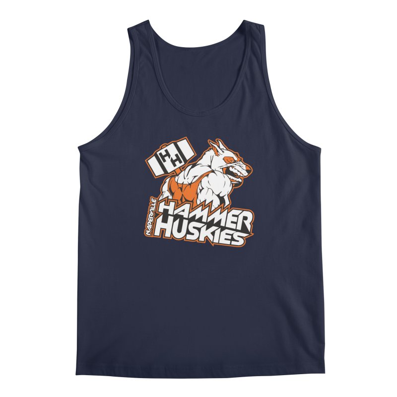 Original Hammer Huskie Men's Regular Tank by Hammer Huskies's Artist Shop