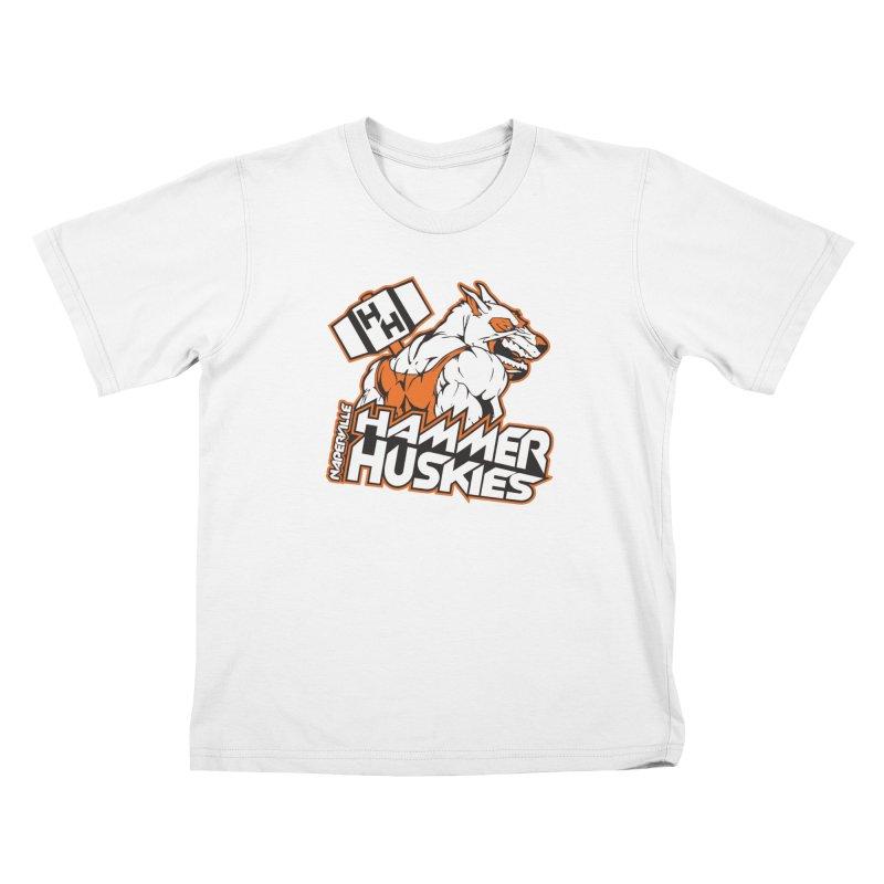 Original Hammer Huskie Kids T-Shirt by Hammer Huskies's Artist Shop