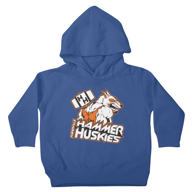 Original Hammer Huskie Kids Toddler Pullover Hoody by Hammer Huskies's Artist Shop