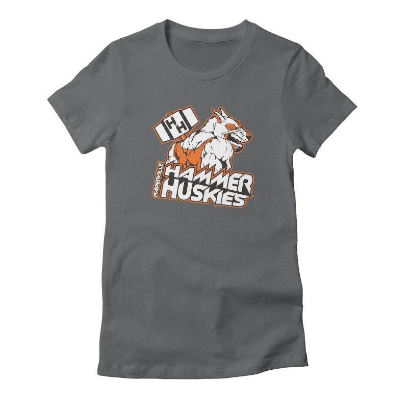 Original Hammer Huskie Women's Fitted T-Shirt by Hammer Huskies's Artist Shop