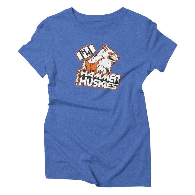 Original Hammer Huskie Women's Triblend T-Shirt by Hammer Huskies's Artist Shop