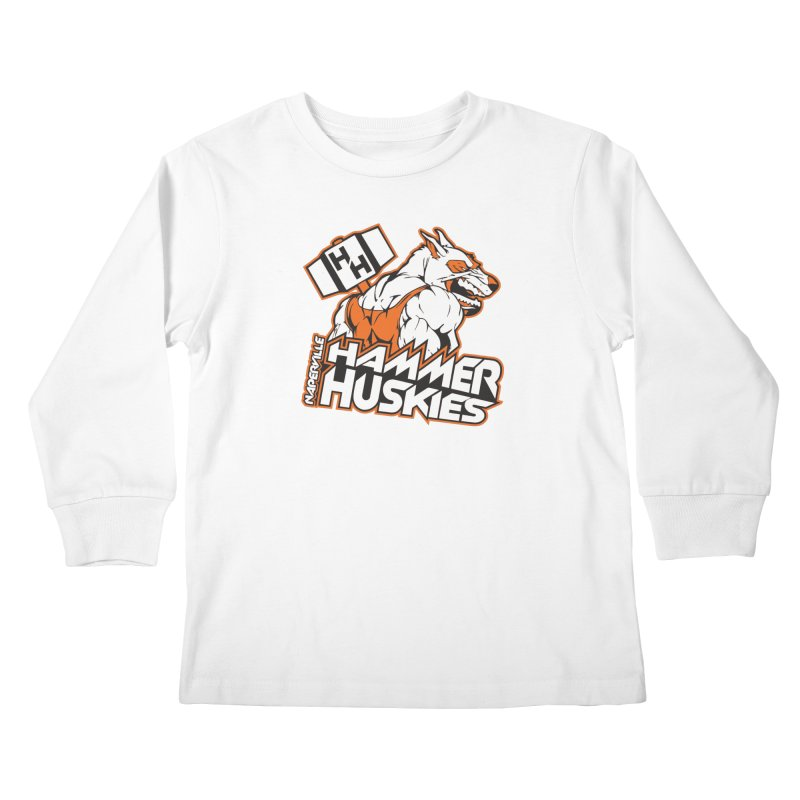 Original Hammer Huskie Kids Longsleeve T-Shirt by Hammer Huskies's Artist Shop