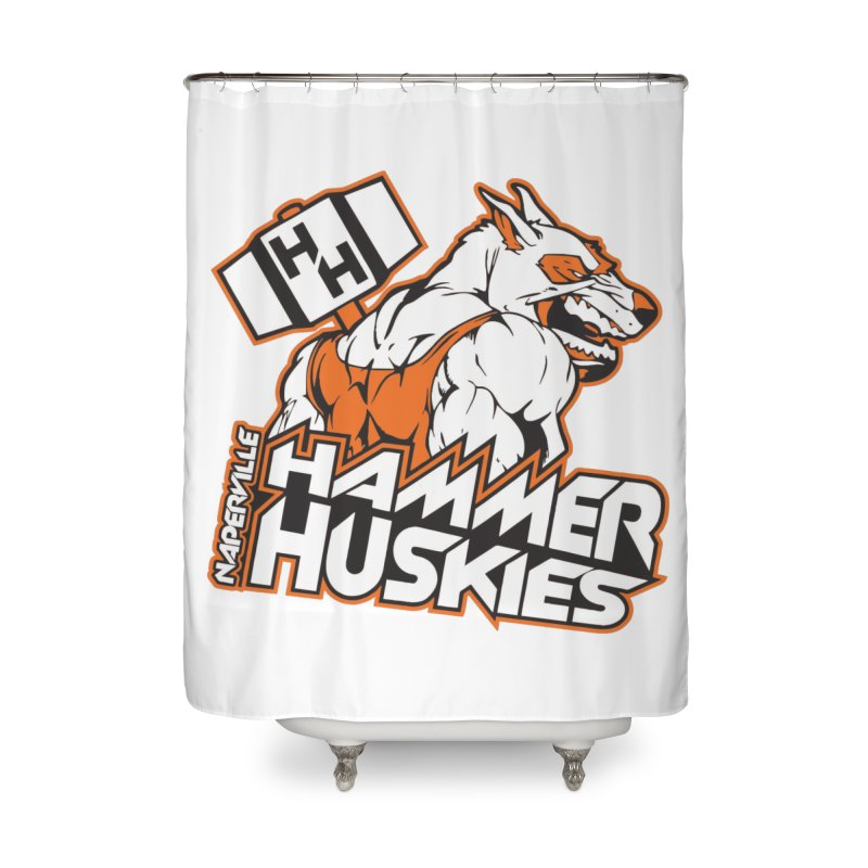Original Hammer Huskie Home Shower Curtain by Hammer Huskies's Artist Shop