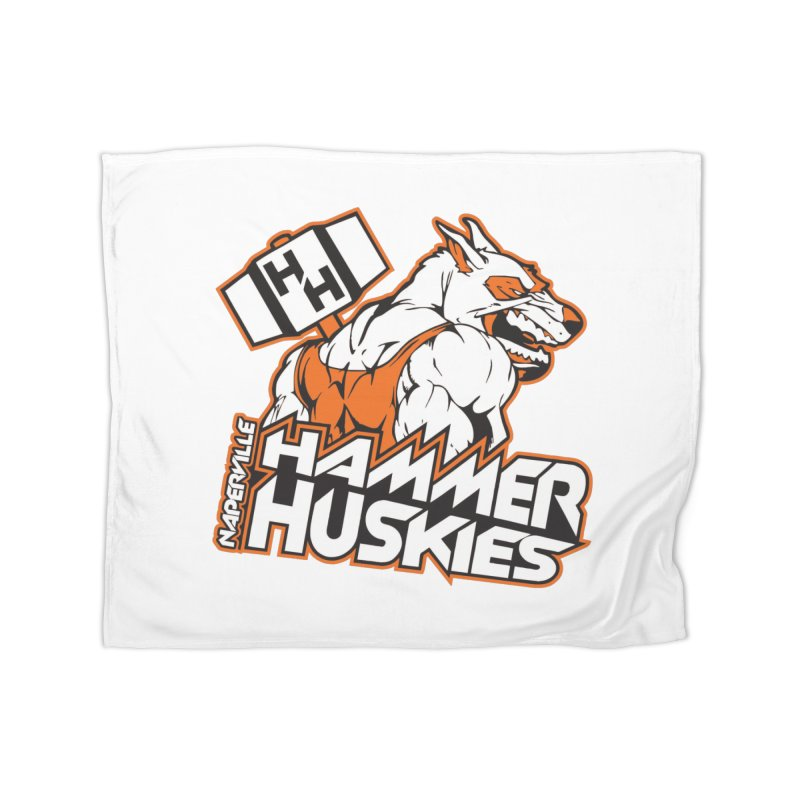 Original Hammer Huskie Home Blanket by Hammer Huskies's Artist Shop